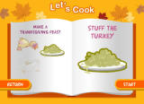 Cooking Mama: Mama Kills Animals Browser Let's stuff the turkey.
