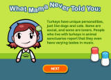 Cooking Mama: Mama Kills Animals Browser She never told me that either.