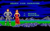 Castle Master DOS Character select (EGA)