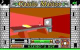 Castle Master DOS Inside the wizard's hut, but still outside the castle (EGA)