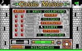 Castle Master DOS Inventory and status screen (EGA)