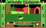 Castle Master DOS The courtyard of the castle (CGA)