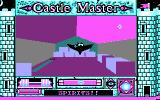 Castle Master DOS A flying spirit attacks in the hay stable. (CGA)