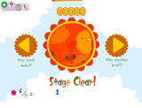 LocoRoco 2 Browser First level completed.