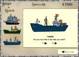 Navigate the Hazards Browser Choosing a boat type