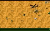 Jungle Strike Amiga Level 3 - The US helicopter pad.