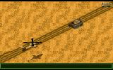 Jungle Strike Amiga Level 3 - An enemy tank.