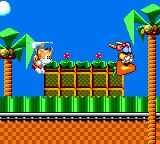 Tails' Skypatrol Game Gear Intro - Chasing a rabbit on a flying carrot