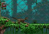 Jurassic Park: Rampage Edition Genesis The raptor can attack with a bite
