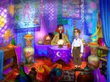 Gilbert Goodmate and the Mushroom of Phungoria Windows Visiting the Fortune Teller - one of the more colorful screens in the game