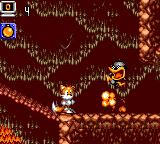 Tails Adventure Game Gear You can't kill enemies by jumping on them. Throwing bombs at them is pretty effective though.