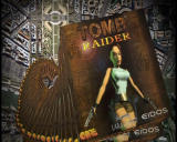 Lara Croft Tomb Raider: Anniversary (Collector's Edition) Windows Long pile of tomb raider games sold.