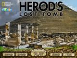 Herod's Lost Tomb Windows Main menu