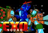 Exo Squad Genesis Title screen
