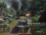 Crysis Windows Tanks are extremely powerful, but they do take damage.