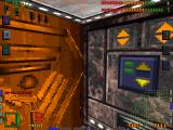 System Shock DOS In the elevator. Ahh, that soothing music!..
