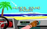 OutRun DOS Music selection (EGA/Tandy)