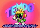 Tempo SEGA 32X Title Screen