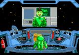 Math Blaster: Episode One - In Search of Spot Genesis Math Blaster gets his mission from the Galactic Commander.