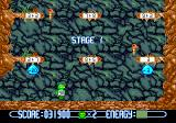 Math Blaster: Episode One - In Search of Spot Genesis Cave Runner: modify your number so you can advance while avoiding hazards like this bat monster.