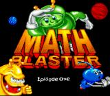 Math Blaster: Episode One - In Search of Spot SNES Title screen.
