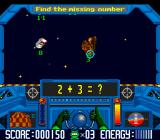 Math Blaster: Episode One - In Search of Spot SNES Trash Zapper: using the tractor beam to collect space junk.