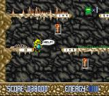Math Blaster: Episode One - In Search of Spot SNES Cave Runner: the Trash Monster is escaping with Spot. Follow him!