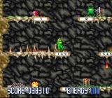 Math Blaster: Episode One - In Search of Spot SNES Cave Runner: Ouch! Looks like Math Blaster misjudged this one.