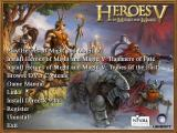 Heroes of Might and Magic V (Gold Edition) Windows Gold Edition auto play screen
