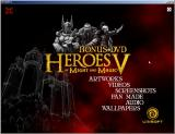 Heroes of Might and Magic V: Gold Edition Windows Bonus DVD main menu