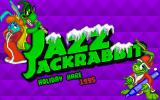 Jazz Jackrabbit: Holiday Hare 1995 DOS The title of the game