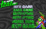 Jazz Jackrabbit: Holiday Hare 1995 DOS This is the main menu. You select an option from it