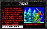 Jazz Jackrabbit: Holiday Hare 1995 DOS Episodes in red can't be played. You want to play them, go order the CD-ROM