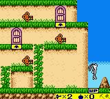 Bugs Bunny: Crazy Castle 3 Game Boy Color Bugs take suggestions found on tiles very seriously.
