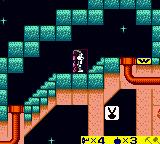 Bugs Bunny: Crazy Castle 3 Game Boy Color The playboy icon is an extra life.