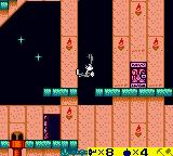 Bugs Bunny: Crazy Castle 3 Game Boy Color Uh-oh that is a long fall...