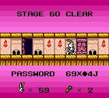 Bugs Bunny: Crazy Castle 3 Game Boy Color Stage _60_ clear!