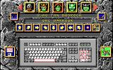 Battle Master DOS Selecting your character or making one up.