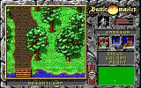 Battle Master DOS A warrior explores Brightleaf forest.