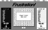 Frustration! Atari ST The winner is player two