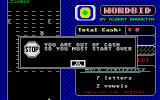Wordbid Atari ST Game over