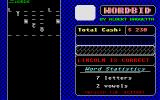 Wordbid Atari ST I guessed right!