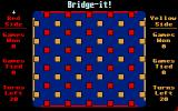 Bridge-it! Atari ST The game is about to start.