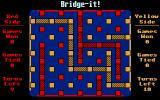 Bridge-it! Atari ST Yellow player wins this match.