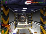 System Shock DOS It's quiet at the moment, meaning a mutant is probably just about to jump on me...