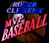 Roger Clemens' MVP Baseball Genesis Title Screen
