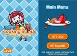 Cooking Mama: Mama Kills Animals Windows Main menu