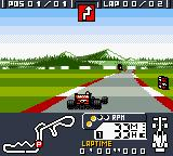 F-1 World Grand Prix Game Boy Color A sharp swerve seems to be coming up. Oh, and welcome to Japan.