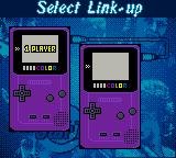 All Star Tennis 2000 Game Boy Color Selecting players, should either of you be lucky enough to own such a garish purple device.