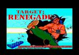 Target: Renegade Amstrad CPC Loading screen